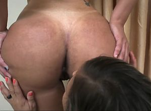 Her ass  is so hot, even hetero woman wants to lick it