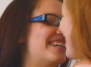 1 Lesbian Masturbates the other until She Cums Loudly