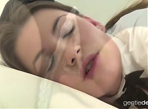 Horny Czech Wife feels the Maid