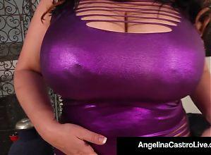 Cuban Goddess Angelina Castro & 2 Large Girls Masturbate!