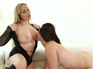 Blond-Brunette Bliss167