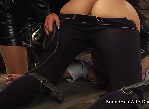 The Submissive:Lesbian Teens In Panties And Whip On Bare Ass